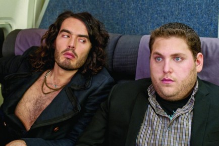 Still Of Russell Brand And Jonah Hill In Get Him To The Greek Large Picture Films