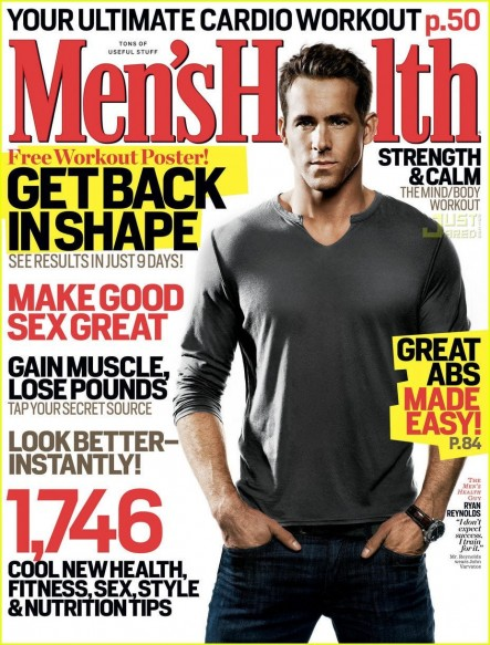 Ryan Reynolds Workout Mens Health Blade