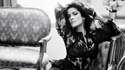 Download Wallpapers Salma Hayek Latest Photoshoot Wallpaper