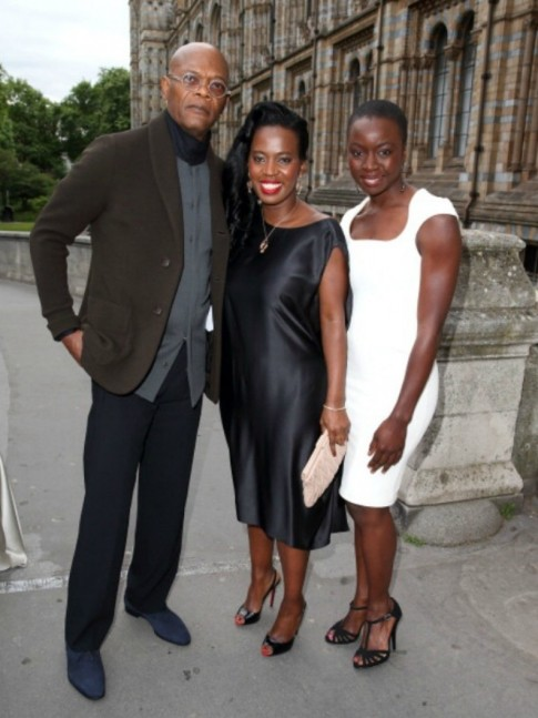 Fabulous Looks Of The Day Samuel Jackson Sofia Davis Danai Guira Samuel Jackson
