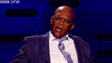 Samuel Jackson Graham Norton Show Hot