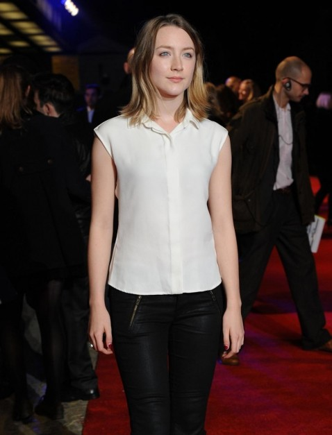 In Time London Premiere October Saoirse Ronan Images Saoirse Ronan