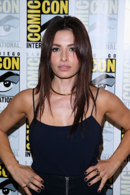 Sarah Shahi Person Of Interest Press Line Panel At Comic Con In San Diego Body