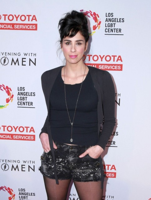 Sarah Silverman Attends The Evening With Women Benefit For The La Lgbt Center In Los Angeles