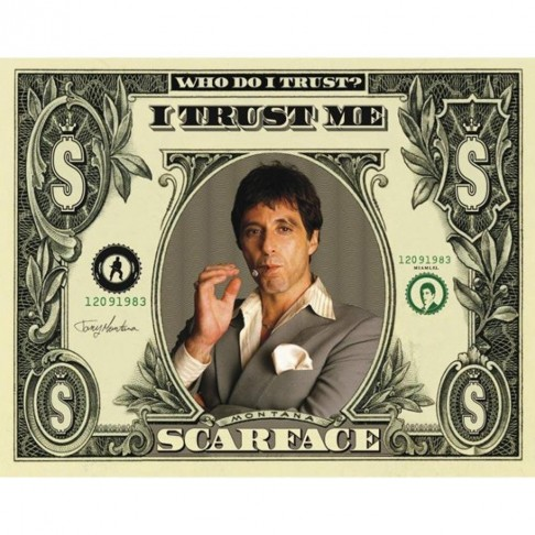 Scarface Movie Poster Small Mpp Large Fb Ca Fa Bbb Scarface