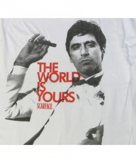 Scarface The World Is Yours Tshirt Logo Scarface