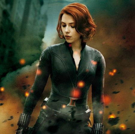 The Avengers Black Widow Wide Scarlett Johansson