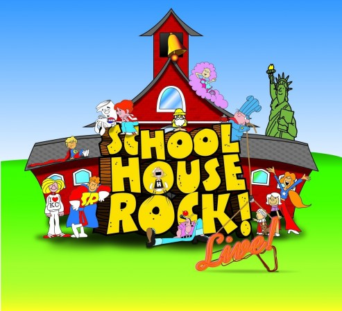 Jpi Schoolhouse Rock Artwork Print Schoolhouse Rock