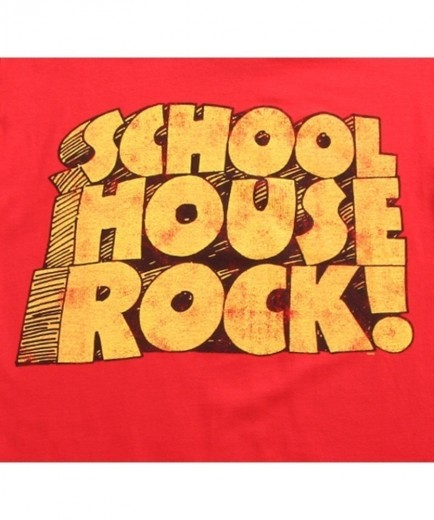 School House Rock Logo Shirt Logo Schoolhouse Rock