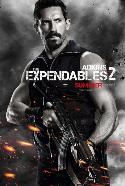 Scott Adkins Expendables Poster Wolverine