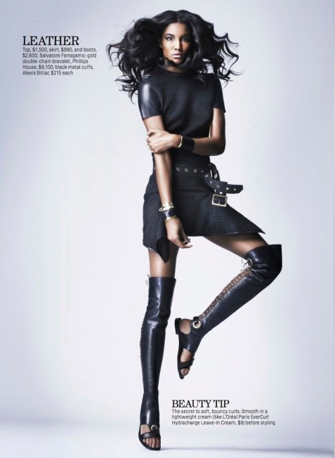 Sessilee Lopez By Sarah Silver For Cosmopolitan February Sessilee Lopez