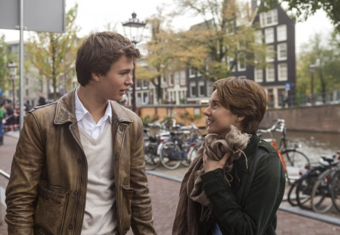 Shailene Woodley And Ansel Elgort In The Fault In Our Stars Shailene Woodley