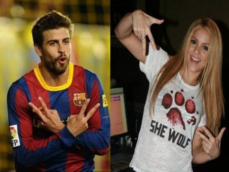 Shakira And Piqu The Same Gesture Gerard Pique Shakira