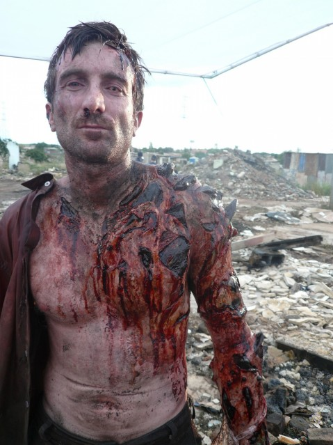 Sharlto Copley In District Large Picture Sharlto Copley
