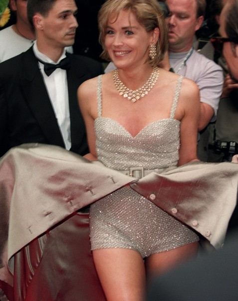 Cannes Red Carpet Sharon Stone Sharon Stone