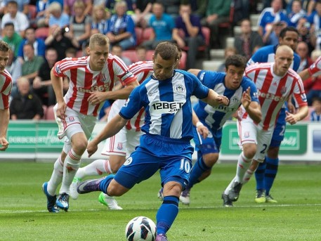 Shaun Maloney Stoke City Sep Shaun Maloney