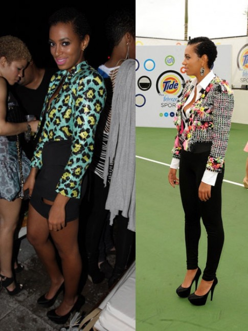 Solange Knowles At Th Annual Super Bowl Friday Night Lights And Launch Of New Tide Plus Febreeze Freshness Sport Hot