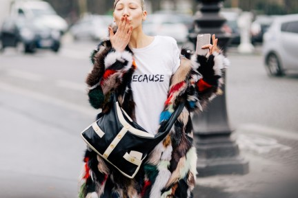 Shotbygio George Angelis Soo Joo Park Paris Fashion Week Fall Winter Street Style Soo Joo