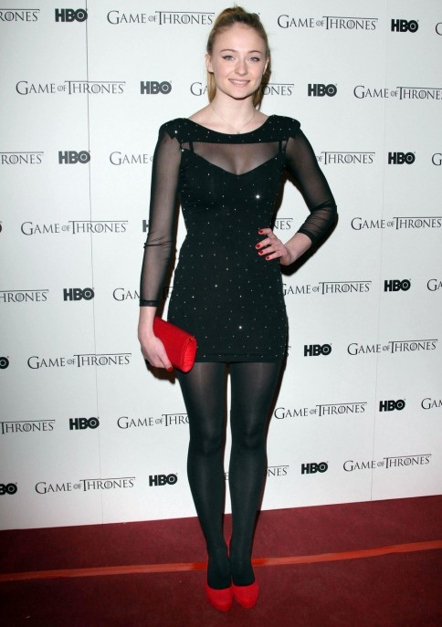 Sophie Turner Game Of Thrones Dvd Premiere In London Th February Sophie Turner