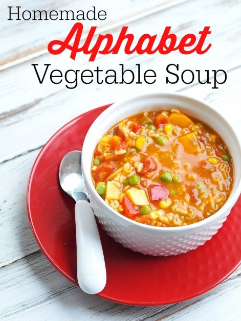 Alphabetsoup Soup