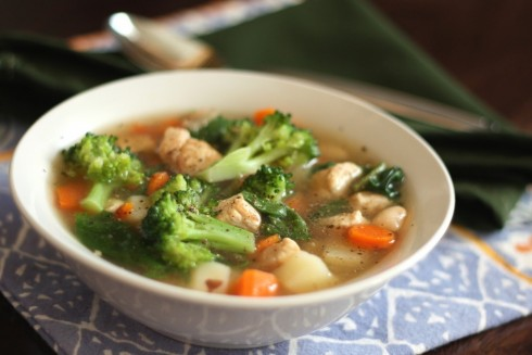 Chicken Vegetable Soup Vegetable