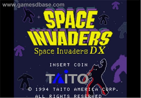 Space Invaders Dx Taito