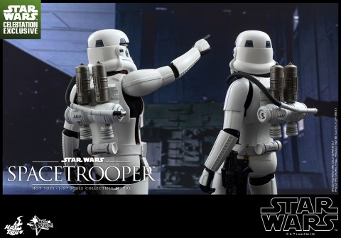 Hot Toys Star Wars Episode Iv New Hope Spacetrooper Collectible Figure Star Wars Celebration Exclusive Pr The Force Awakens