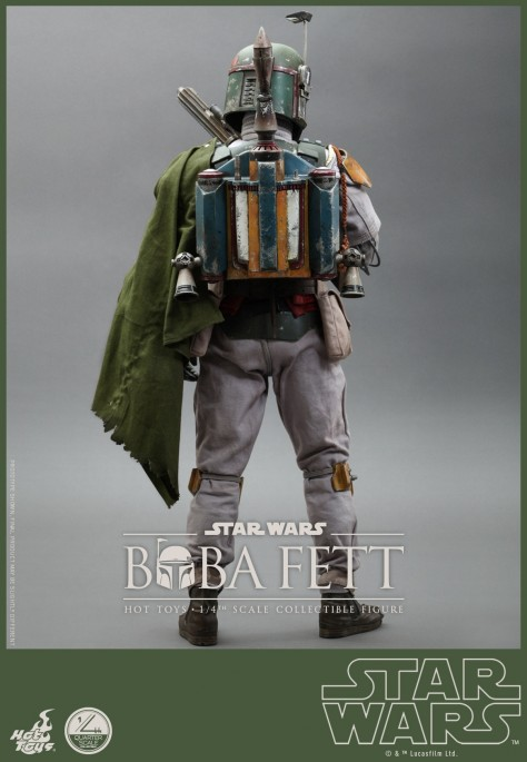 Hot Toys Star Wars Episode Vi Return Of The Jedi Boba Fett Collectible Figure Pr Hot