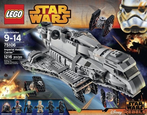 Lego Star Wars Imperial Assault Carrier Toysnbricks