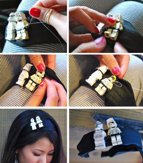 Star Wars Lego Headband Lego