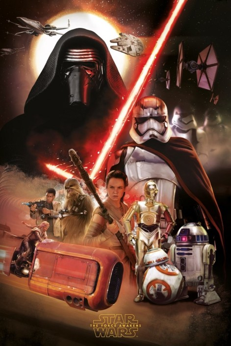 Star Wars Poster Art Force Awakens The Force Awakens