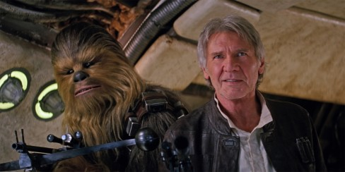 Star Wars Force Awakens Review Han Solo Chewie Star Wars Episode Vii