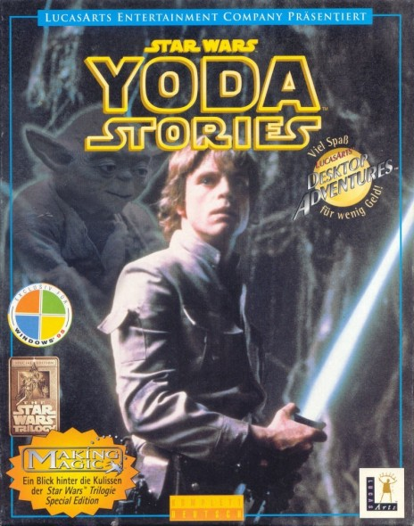 Star Wars Yoda Stories Windows Front Cover