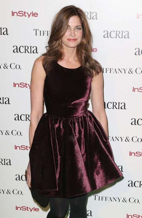 Stephanie Seymour Attend The Th Annual Acria Holiday Dinner In New York