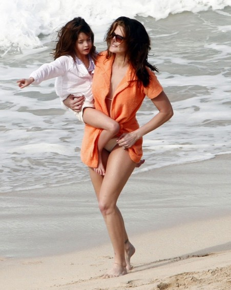 Stephanie Seymour Totes Her Gorgeous Girl Instagram