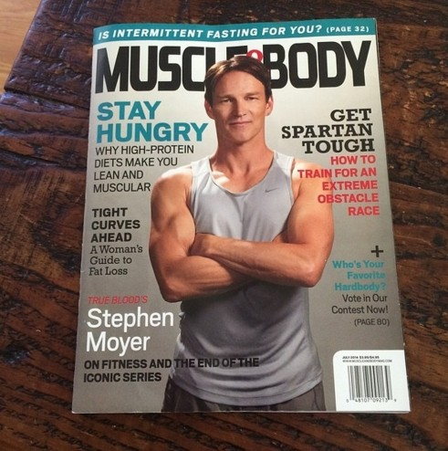 Stephen Moyer On Muscle And Body Stephen Moyer