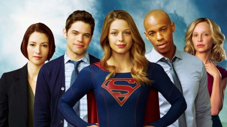 Cast Wallpaper Supergirl Tv Series Supergirl