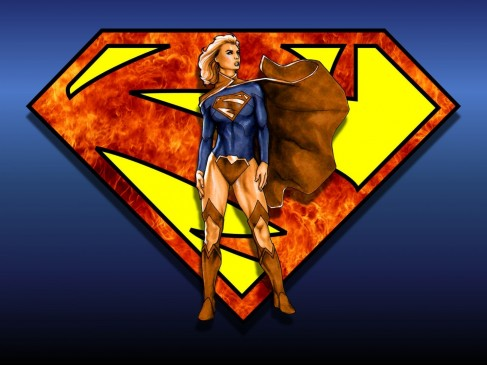 Supergirl And Superman New Wallpaper Supergirl