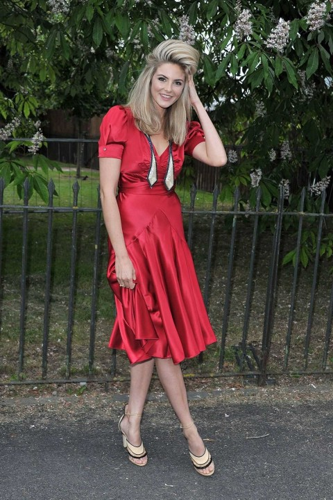 Tamsin Egerton At Serpentine Summer Party In London Tamsin Egerton