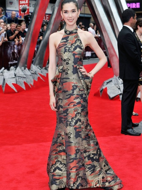 Tao Okamoto The Wolverine London Premiere Miharayashiro Fall Gown Style