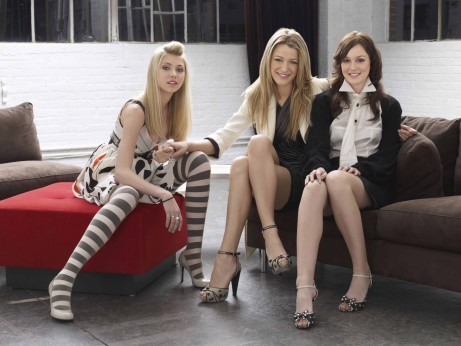 Leighton Meester Blake Lively And Taylor Momsen In Gossip Girl Season Promo Shots Gossip Girl