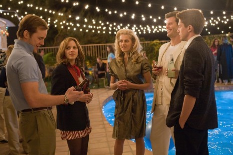 Still Of Ryan Bittle Anna Faris Topher Grace And Teresa Palmer In Take Me Home Tonight Russell Brand