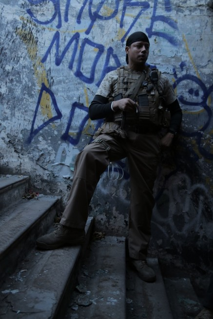 Exclusive Images From Sabotage Terrence Howard Terrence Howard
