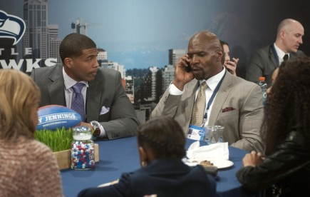 Draft Day Arian Foster And Terry Crews Terry Crews