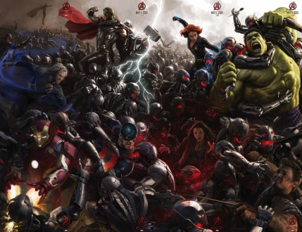 Avengers Age Of Ultron Comic Con Poster Full Hd The Avengers