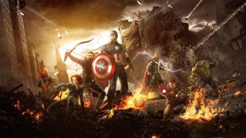 Avengers Age Of Ultron Wallpaper Feat Spider Man By Steamblust