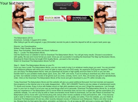 Ready Watch The Babymakers Movie Online Download The Babymakers Movie Source The Babymakers