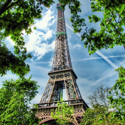 Blue Eiffel Tower Backgrounds Free The Eiffel Tower
