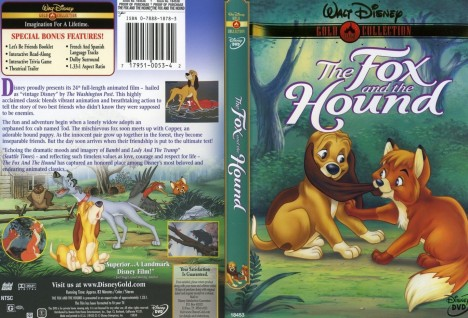 Max Frontback Cover The Fox And The Hound