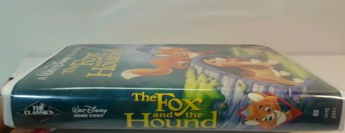 The Fox And The Hound Vhs Black Diamond The Fox And The Hound
